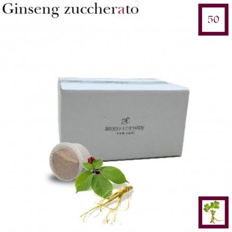 Maxi 50 pezzi - Ginseng zuccherato (Espresso Point compatibile*)