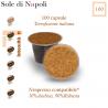 Coffee Naples' Sun, 100 capsules (Nespresso compatible*)