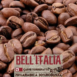 Bell'Italia - 1000g. torrefatto in grani - 70%Arabica, 30%Robusta - Selected high quality blend