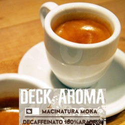 Deck Aroma - 250g. Macinatura Moka - 100%Arabica - Selected high quality blend
