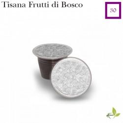 Tisana ai Frutti di Bosco, 30 capsule (Nespresso compatibile*)