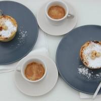 Milan: breakfast in the office