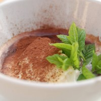 Italy: poached vanilla coffee