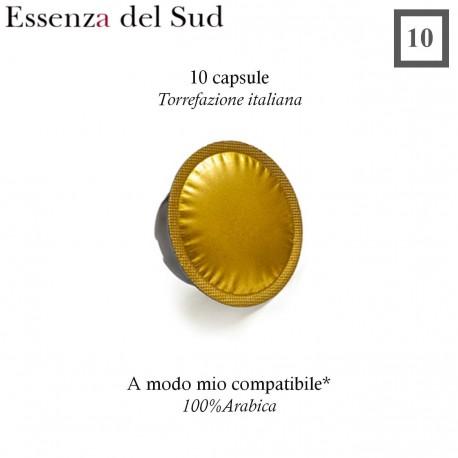 SOUTHERN ESSENCE A Modo Mio compatible * 10 coffee capsules