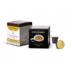 Napoli Coffee Cream Nespresso* selbstschützende Kapseln von hoher Qualität, die mit Kaffee kompatibel sind - 12 Stk.