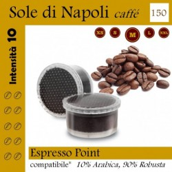 Naples Sun coffee, 120 capsule (Espresso Point compatibles*)