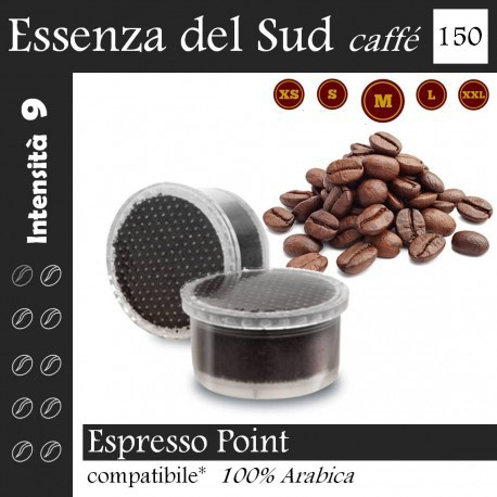 Caffè Essenza del Sud conf. da 150 capsule (Espresso Point compatibile*)