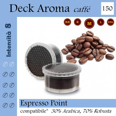 Coffee Deck Aroma, 120 capsules (Lavazza Espresso Point compatible*)