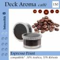 150 capsule Deck Aroma caffè, Espresso Point compatibili*