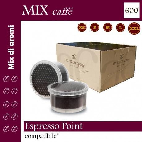 box 600 Espresso Point compatibili, caffè Aroma Company