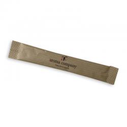 Raw sugar cane sachet, 100 pieces