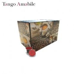 Confezione da 100 capsule Nespresso compatibili di caffè Tango Amabile