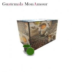 Confezione da 100 capsule Nespresso compatibili di caffè Guatemala Mon Amour