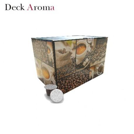 Confezione da 100 capsule Nespresso compatibili di caffè Deck Aroma