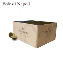 Confezione da 120 capsule Espresso Point compatibili di caffè Sole di Napoli