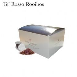 Confezione da 25 capsule Nespresso compatibili di Tè rosso Rooibos