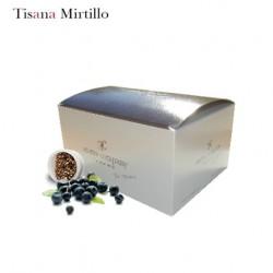 Confezione da 15 capsule Espresso Point compatibili di Tisana al mirtillo