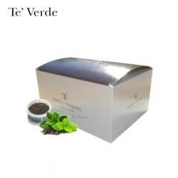 Confezione da 15 capsule Espresso Point compatibili di Tè verde in foglia