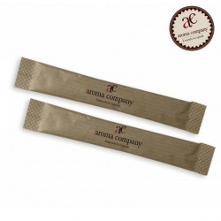 Paket von Rohrrohzucker, 100 Stück, Aroma Company