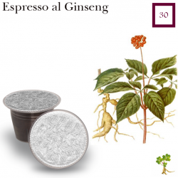 Ginseng coffee package 30 capsules (Nespresso compatible*)