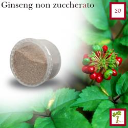 Ginseng ungesüßt Espresso, 20 Kapsel (Espresso Point kompatibel*)
