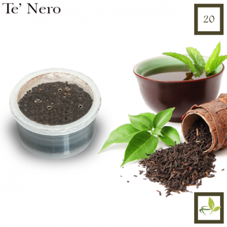 Black Tea in Leaf, 20 capsules (Espresso Point compatible*)