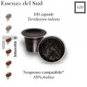 100 capsule Essenza del Sud caffè, Nespresso compatibili*