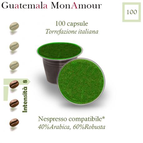 Kaffee Guatemala Mon Amour, 100 Kapseln (Nespresso kompatibel*)