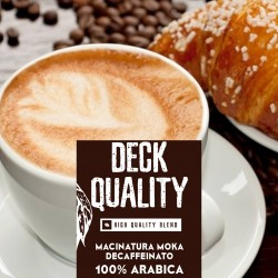 Deck Quality-250 g. Moka-grind 100% Arabica-High quality blend