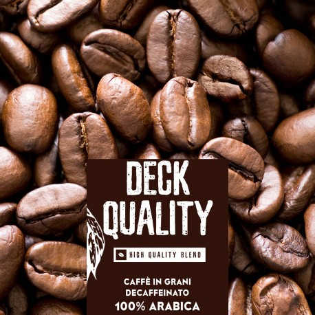 Deck Quality - 1000g. torrefatto in grani - 100%Arabica - High quality blend