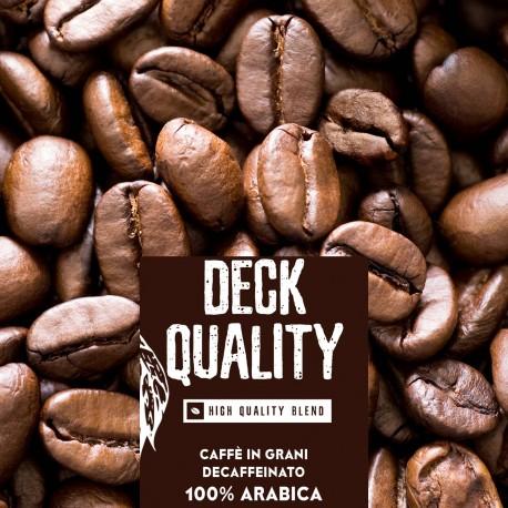 Deck Quality - 1000g. torrefatto in grani - 100%Arabica - High quality blend