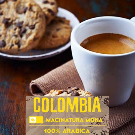 Single-origin Colombia-250 g. Moka-grind 100% Arabica-Selected high quality blend
