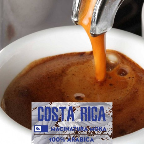 Costa Rica mono-origine - 250g. Macinatura Moka - 100%Arabica - Selected high quality blend