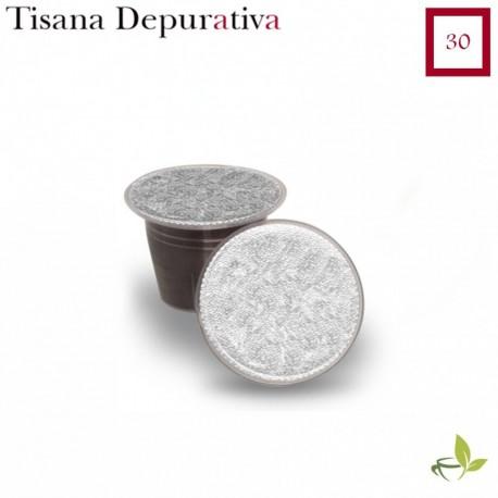 Tisana Depurativa 30 capsule (Nespresso compatibile*)