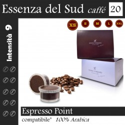box 20 Espresso Point compatibili, Essenza del Sud coffee Aroma Company
