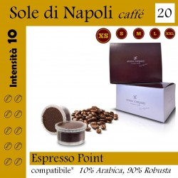 box 20 Espresso point compatibili, Sole di Napoli coffee Aroma Company