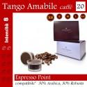 Confezione da 15 capsule Espresso Point compatibili di caffè Tango Amabile