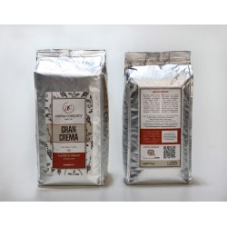 Gran Crema-1000 g. roasted beans-30% Arabica 70% Robusta-High quality blend