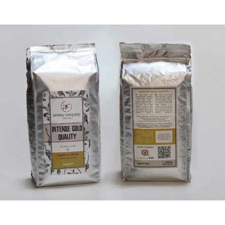 Intense Gold Quality - 1000g. torrefatto in grani - 70%Arabica 30%Robusta - High quality blend