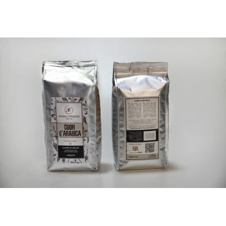 Cuor d'Arabica - 1000g. roasted in grains