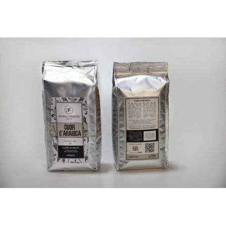 Cuor d'Arabica - 1000g. torrefatto in grani - 100%Arabica - High quality blend