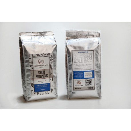 Good Morning - 1000g. torrefatto in grani - 15%Arabica - 85% Robusta -  High quality blend