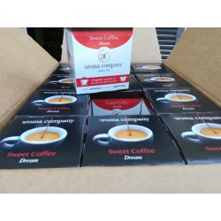 144 Sweet Coffee Capsules Dream coffee Nespresso * compatible self-protected high quality coffee.