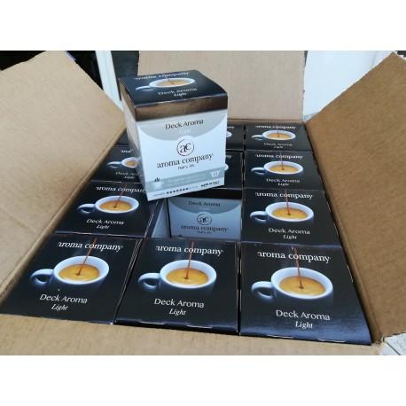 Capsule Deck Aroma Light coffee Nespresso* autoprotette compatibili caffè di alta qualità Aroma Company