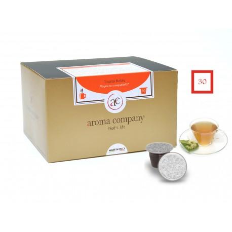 Tisane Relax, 25 capsules (Nespresso compatible*)