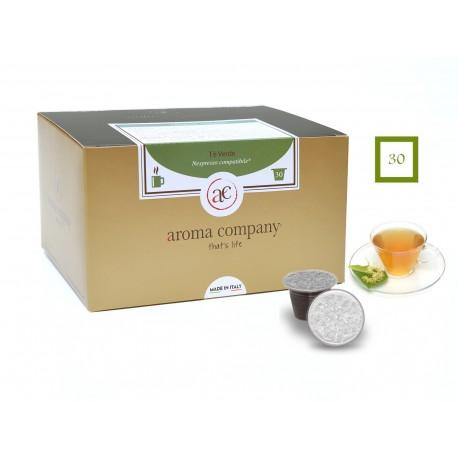 Green Tee, 25 Kapseln (Nespresso kompatibel*)