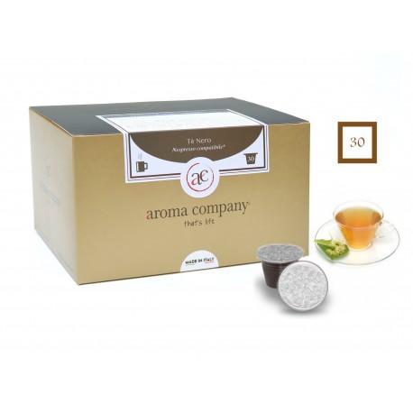 Schwarzer Blatt-Tee, 25 Kapseln (Nespresso kompatible*)