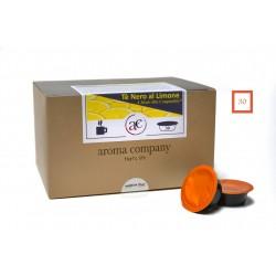 TE' NERO AL LIMONE - 30 capsule - Prodotto in foglia -  (A Modo Mio compatibile*)