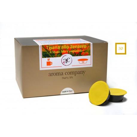Kräutertee mit Ingwer und Zitrone