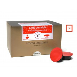 COFFEE AMABILE - 30 Kapseln (kompatibel mit A Modo Mio *)